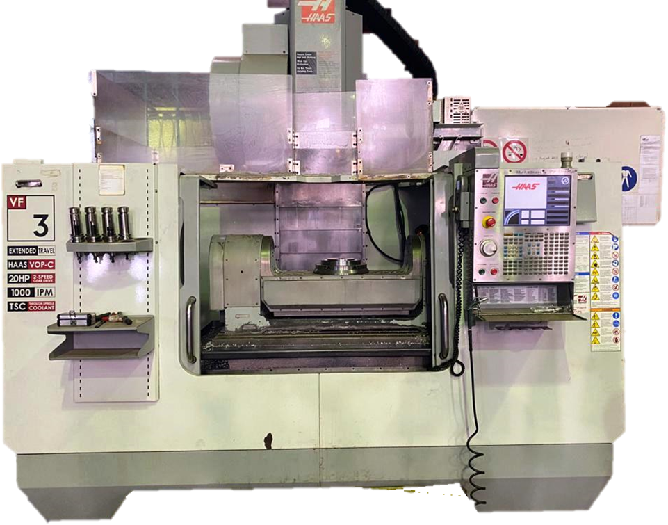 HAAS 5 AXIS CNC MACHINING CENTER
