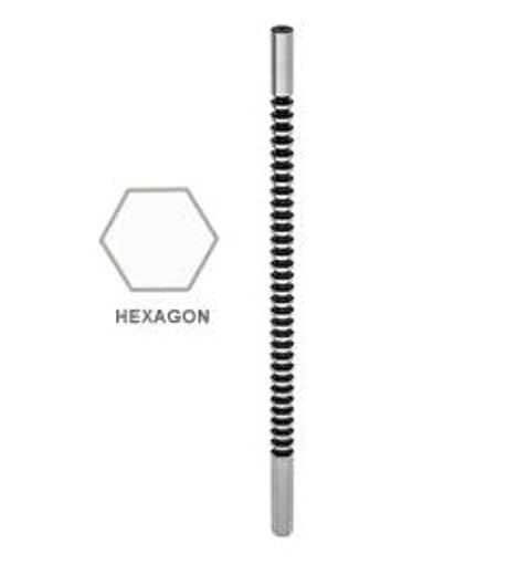 HEXAGON BROACH